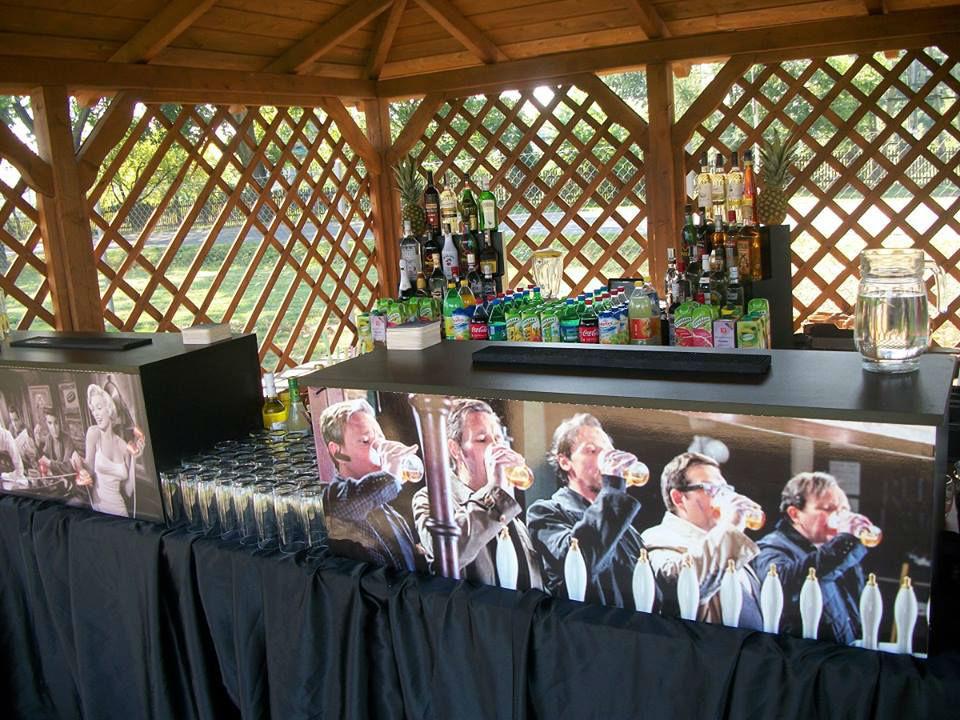 Bar gotowy na przyjęcie weselne
