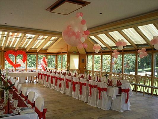 Beispiel: Hochzeitsdekoration, Foto: Dreamballoon.