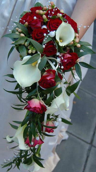 Beispiel: Brautstrauss, Foto: Blumenhaus Scholle.