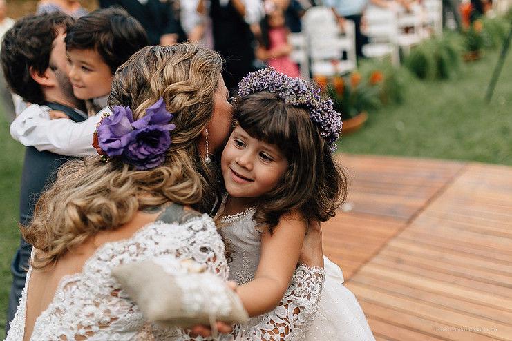 Acessórios para penteado noiva e daminha