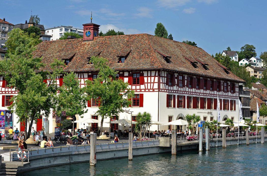 Die Terrasse am Rhein