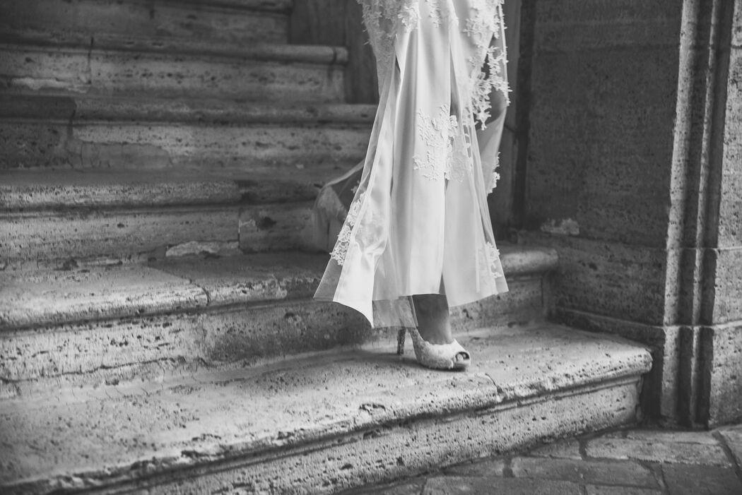 Dentelle brodée pour votre robe de mariée sur mesure chez Kelsie Couture