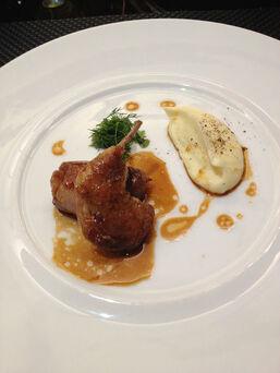 Beispiel: Serviervorschlag, Foto: Zarges Restaurant.