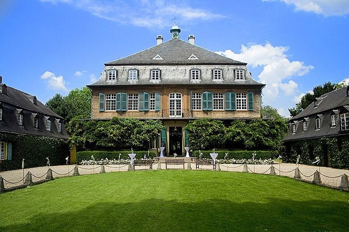 Beispiel: Innenhof, Foto: Schloss Eicherhof.