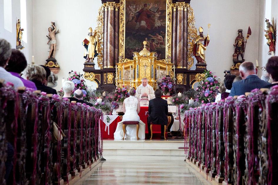 Beispiel: Blumen für die Zeremonie, Foto: Blumenmanufaktur.