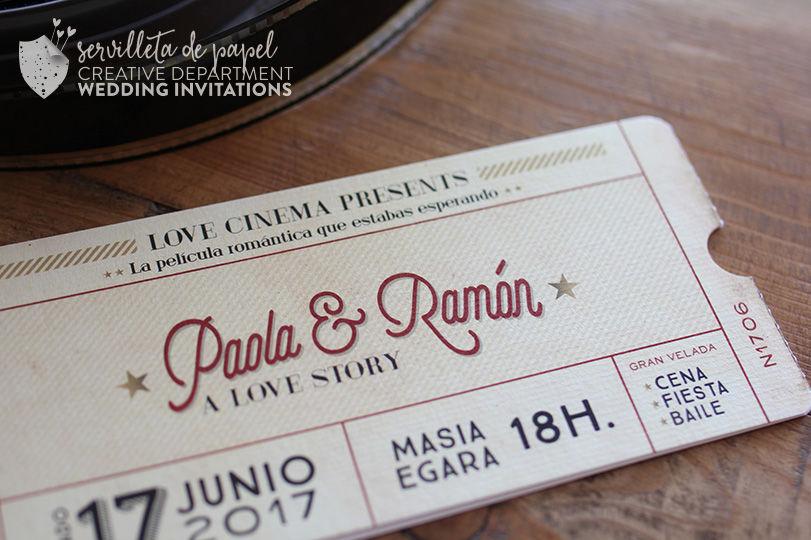 Invitación Cine P&R