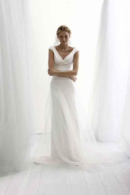 Beispiel: Ihr perfektes Hochzeitskleid, Foto: Salon.