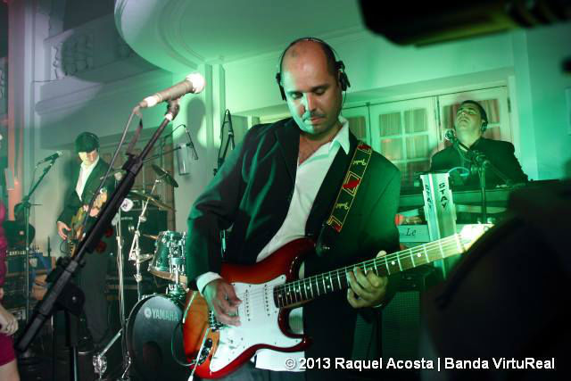 Banda VirtuReal. Foto: Raquel Acosta