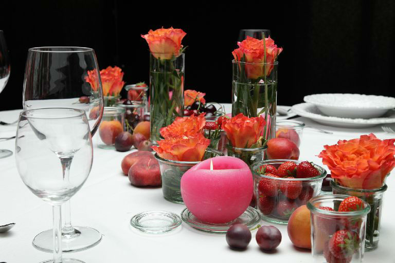 Beispiel: Florale Dekoelemente, Foto: Florastyle.