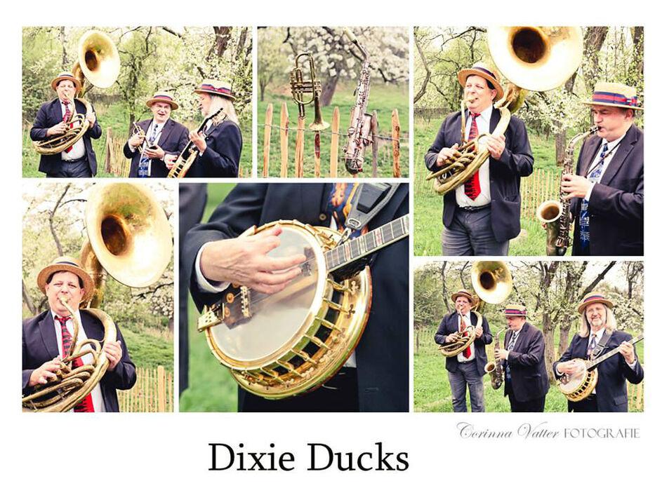 Wunderschöne kleine Landhochzeit mit Dixie Begleitung !