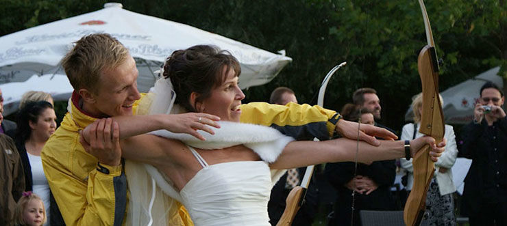 Beispiel: Rahmenprogramm zu Ihrer Hochzeit, Foto: Schloss Blankensee.