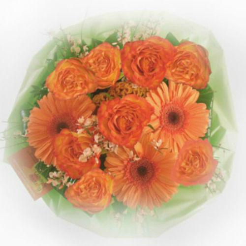 Beispiel: Brautstrauß, Foto: Blumenline.