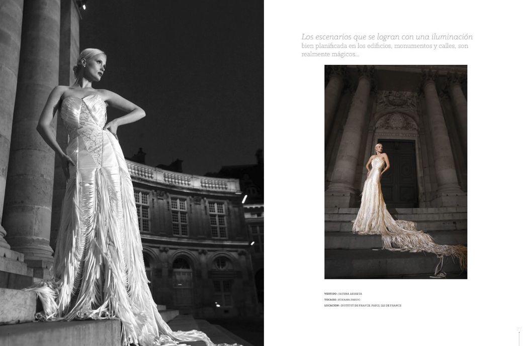 #covergirl Angelina Pavlishina on Peruvian #WeddingMagazine Cásate y Punto #WeddingDress by Fatima Arrieta MUA : Giuliana Irazola Osthof 59 Edicion, abril 2015. photo :Luis Chiang Chang-Way