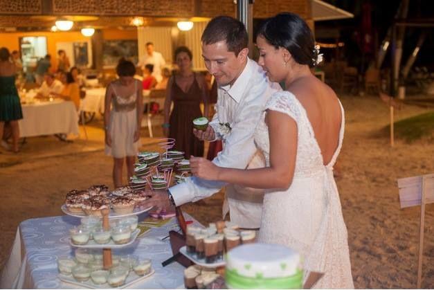 Claudia Gómez Matrimonios y Eventos  San Andres  Fotos: Efeunodos