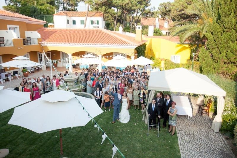 Real Vintage Theme Wedding in Portugal at Senhora da Guia Cascais Boutique Hotel