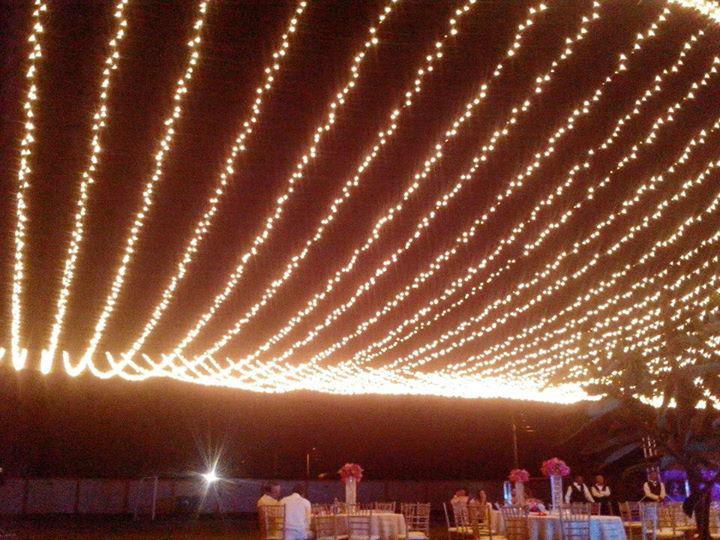 Ambientación Lumínica y Montaje con Telas