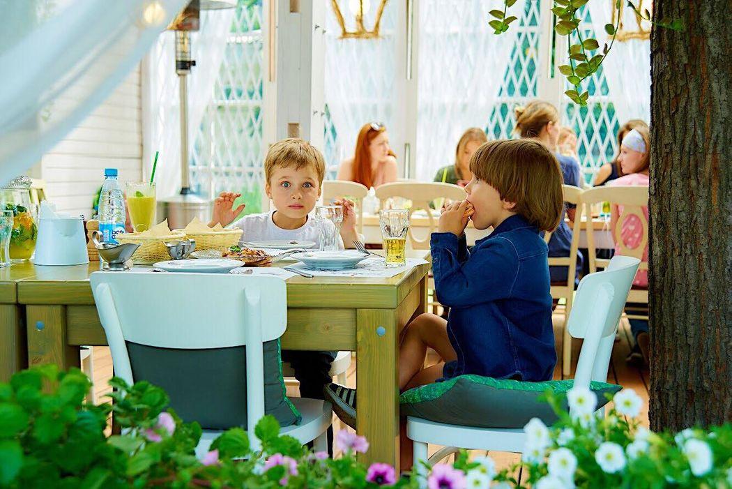 Эко-кафе 'Теплица в Нескучном Саду'