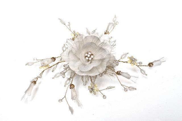 Arya Italian Jewels - Accessori Acconciatura matrimonio - Pettinino Sposa fiore