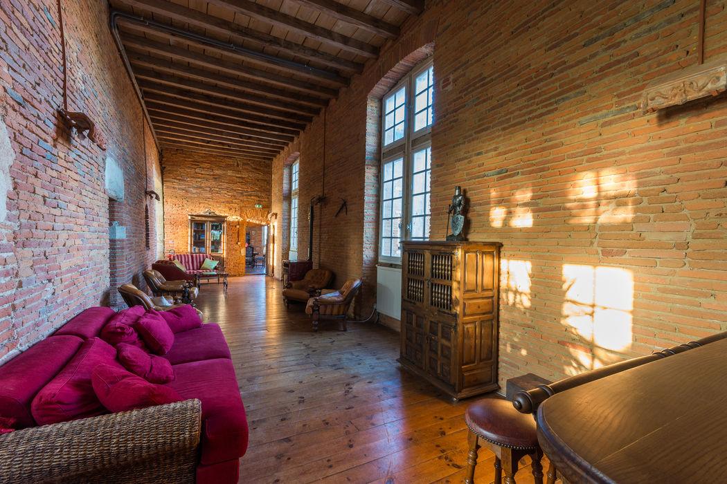 La galerie des Chevaliers, salle de détente