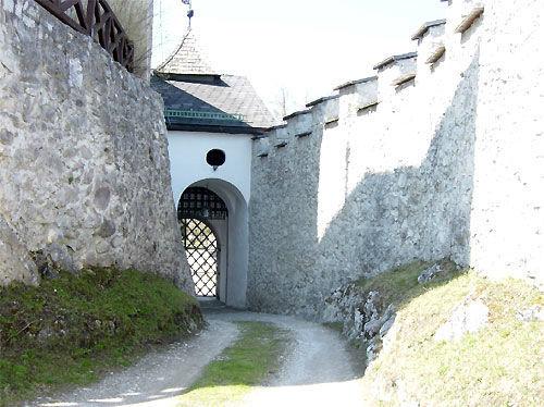 Beispiel: Innenhof, Foto: Burg Strechau.