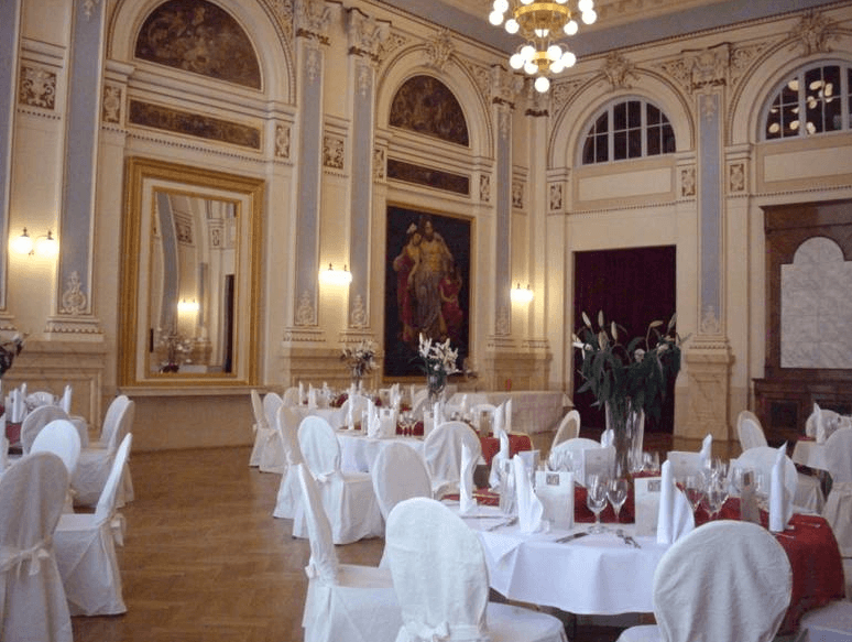 Hochzeitsdekoration, Foto: Parkhotel Bad Schandau