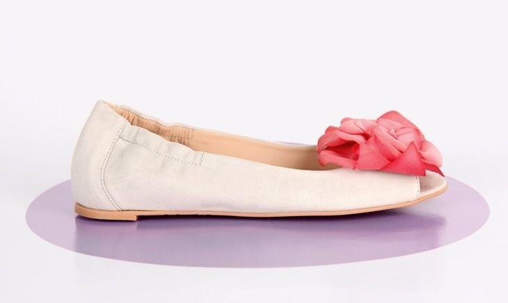 Beispiel: Ballerinas für Bräute, Foto: Gwendolina - Schöne Schuhe für die Braut.Ballerinas für Bräute Foto: Gwendolina