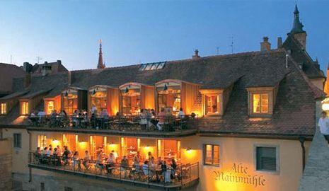 Beispiel: Balkons, Foto: Alte Mainmühle.