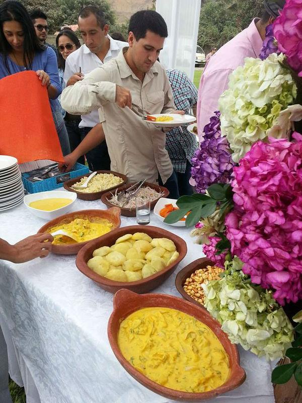 Buffet criollo