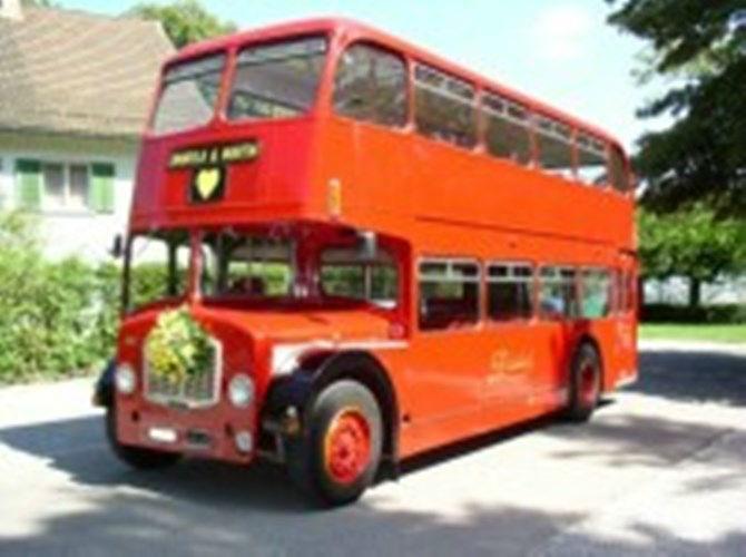 Beispiel: Der London Bus, Foto: Londag.
