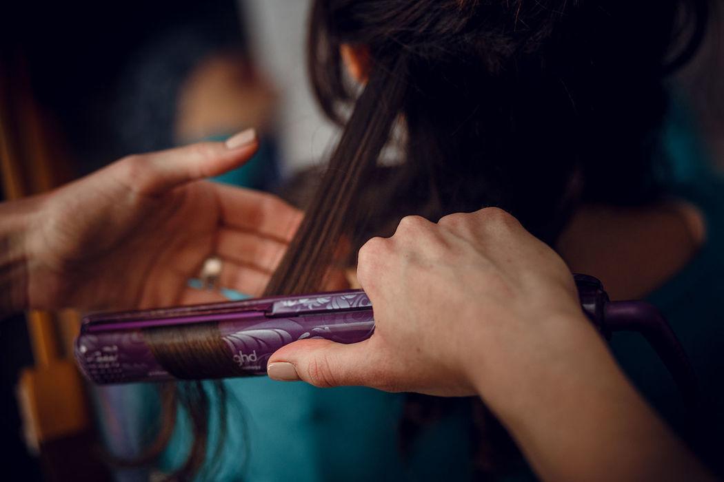 Peinado invitada boda. Nuria Villa · Makeup Studio