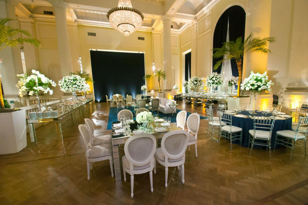 Vanessa Aune Cerimonial. Salão Copacabana Palace