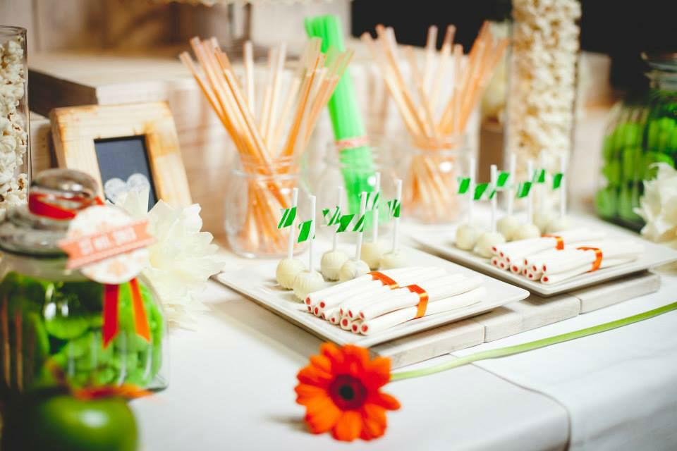 candy bar mesa de chuches