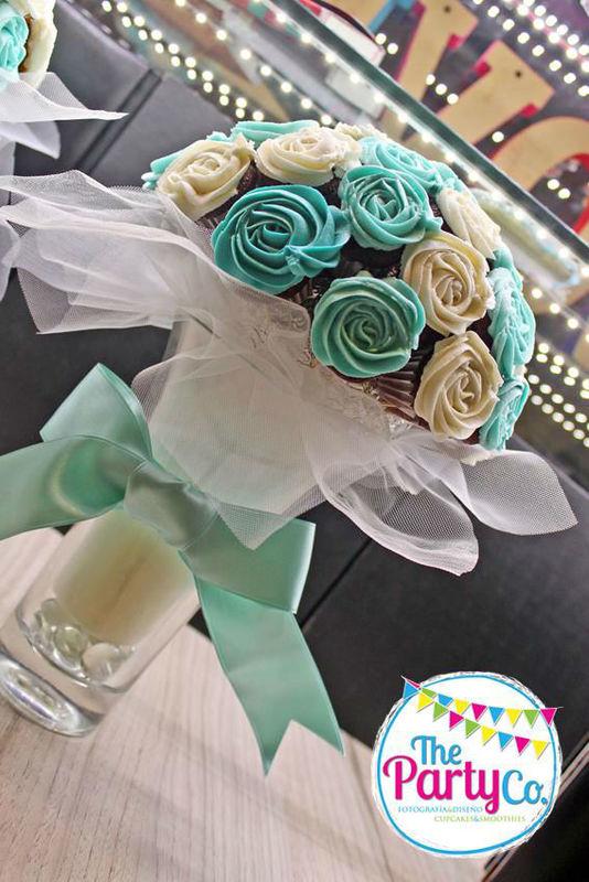 Bouquets de cupcakes