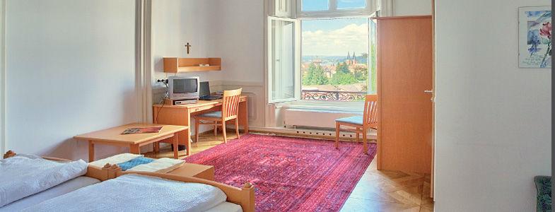 Beispiel: Zimmer mit Aussicht, Foto: Villa Raczynski.