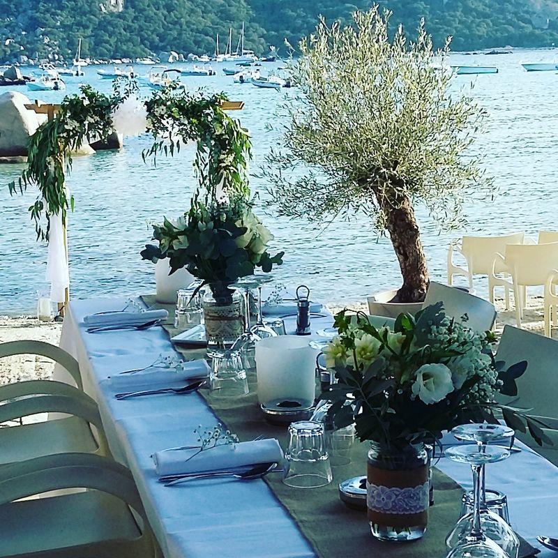 Arche plage , décoration restaurant