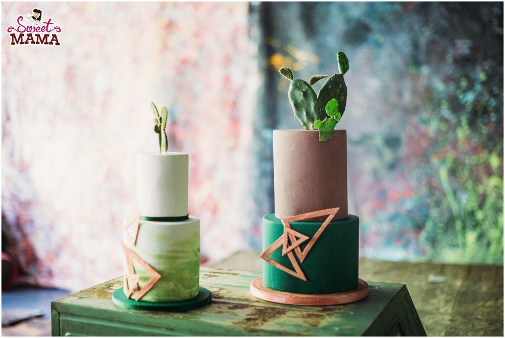 Tartas cactus. Foto: La Dichosa.