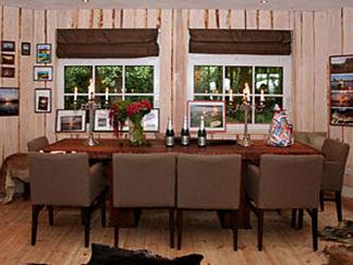 Beispiel: Eßzimmer, Foto: Seelodge Kremmen.