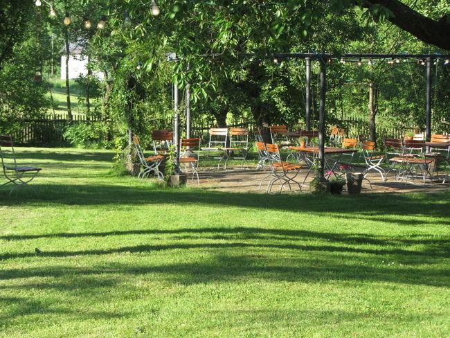 Beispiel: Garten, Foto: Schmiedelandhaus.