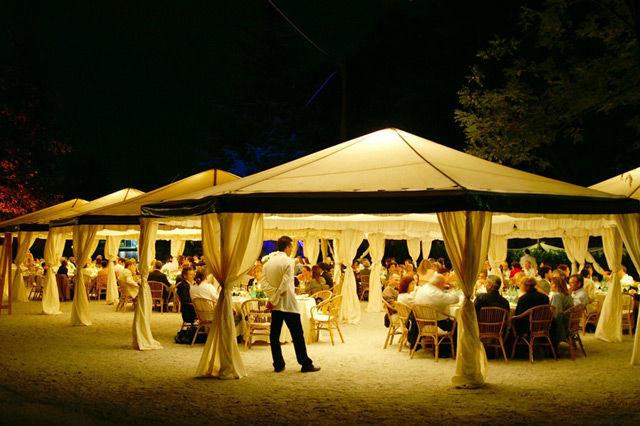 Beispiel: Zelte, Foto: KV-eventgastronomie.