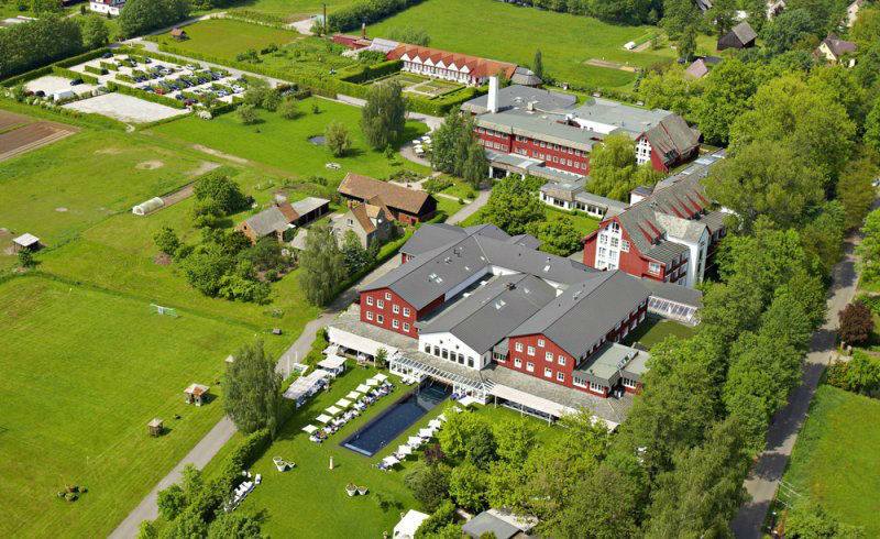 Beispiel: Luftaufnahme, Foto: Hotel Zur Bleiche.