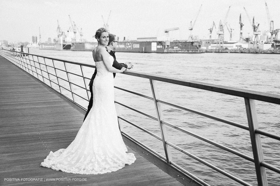 Hochzeit in Hamburg - Fotoshooting am Hafen