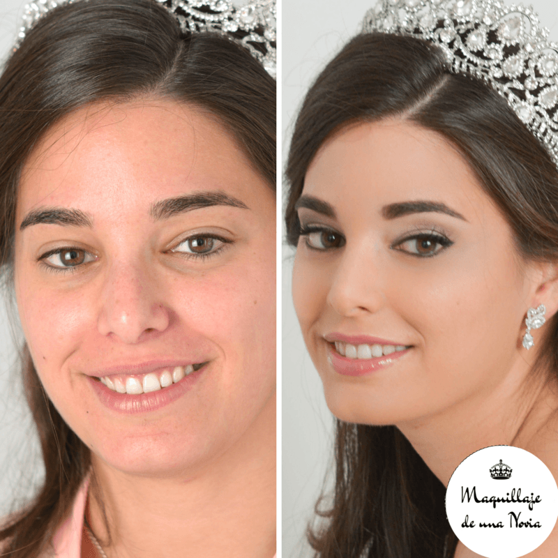 Maquillaje de una Novia