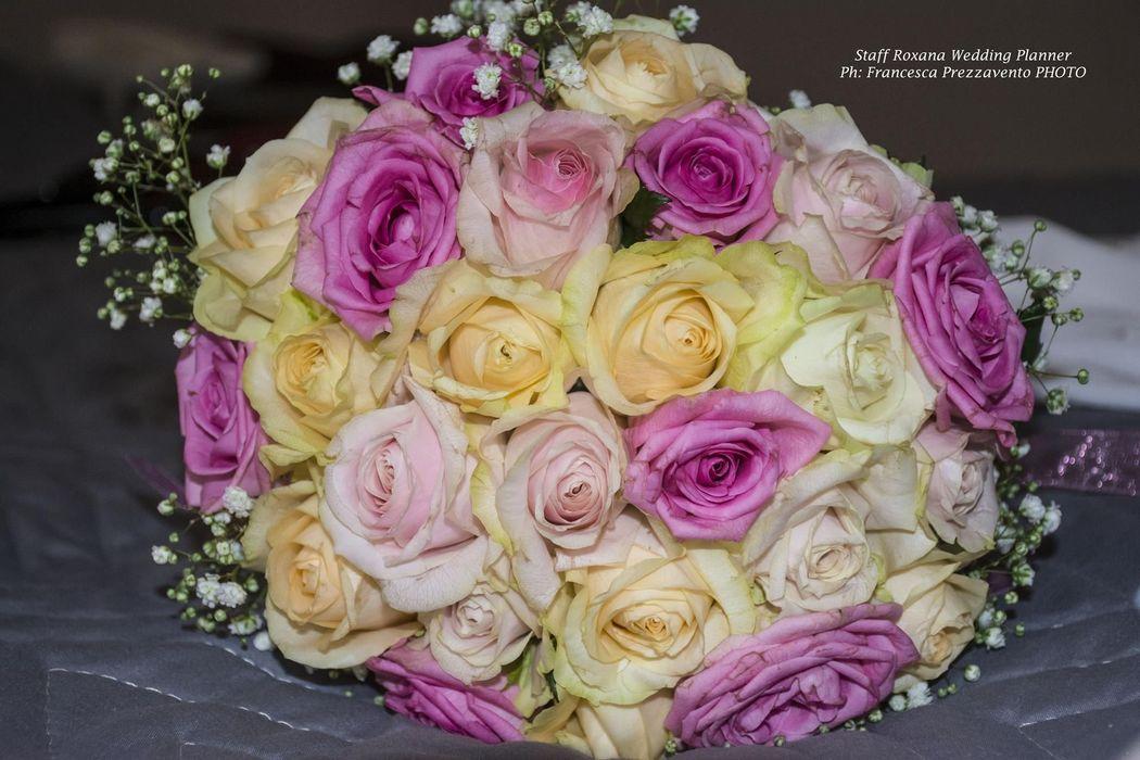 Bouquet sposa rosa