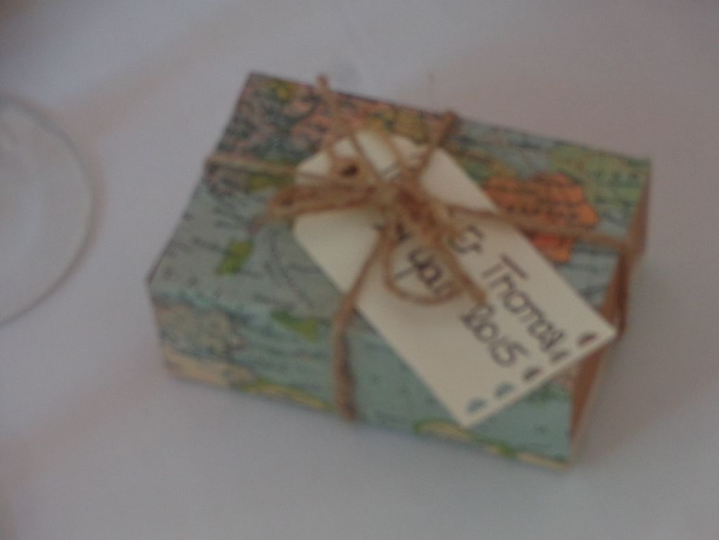 @ Agence Catherine Petitcuenot & Co Dragées - Mariage thème Voyages