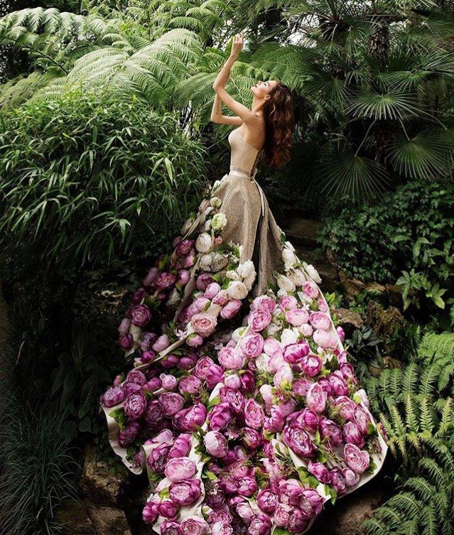Couture dresses MALYAROVA OLGA