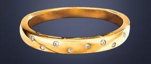 Beispiel: Zierlicher Doldring mit Diamanten, Foto: faszinata.