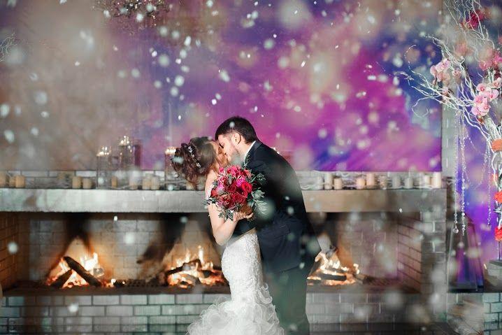 Сила любви распускает цветы даже зимой