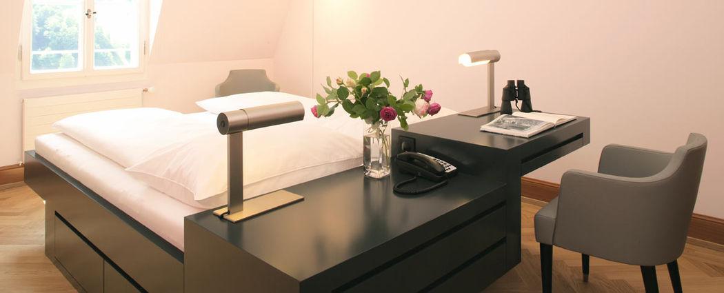 Beispiel: Hotelzimmer, Foto: Jugendstil-Hotel Paxmontana.