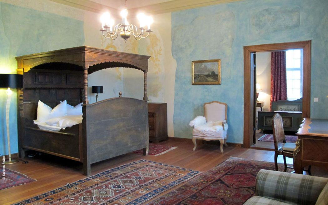 Beispiel: Zimmer, Foto: Schloss Stülpe.