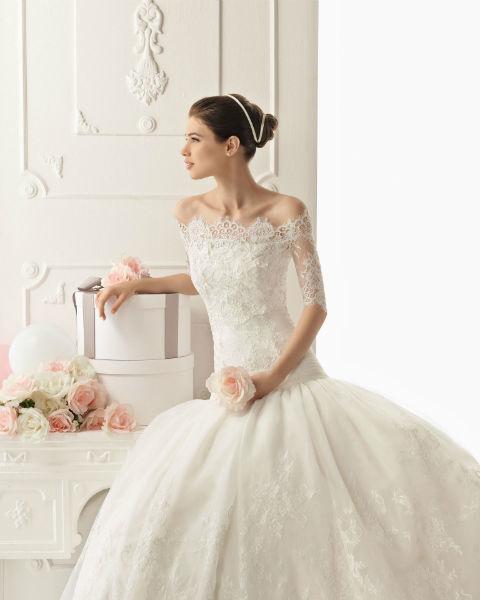 Vestidos de novia Aire Barcelona de Rosa Clará en Veracruz